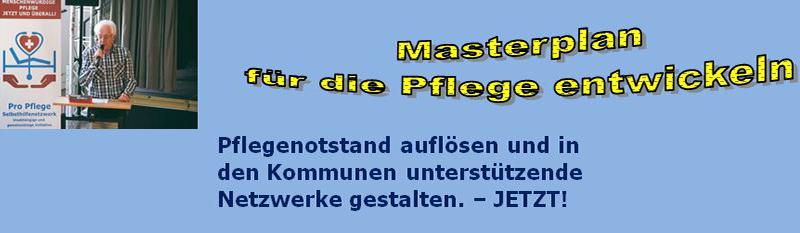 Masterplan Pflege